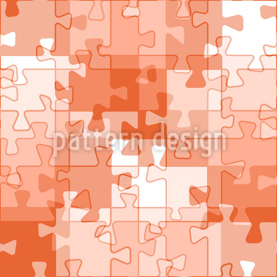 Wie Ein Puzzle Vektor Ornament