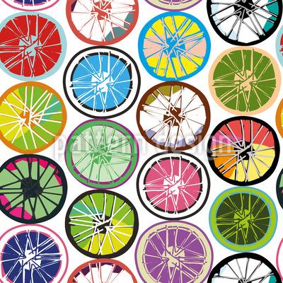 Wheels Repeat Pattern