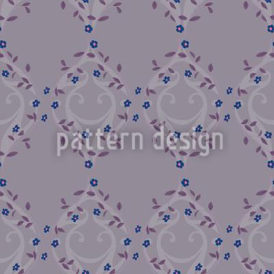 Vergissmeinnicht Dunkel Muster Design