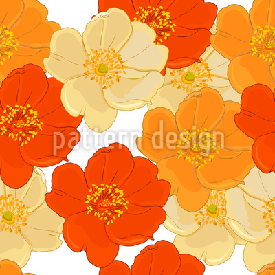 Dornstrauch Blüten Rapport