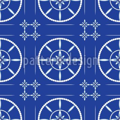 Circle Tiles Pattern Design