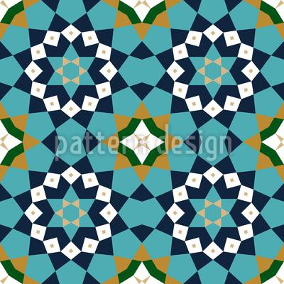 Marokko Geometrie Vektor Ornament