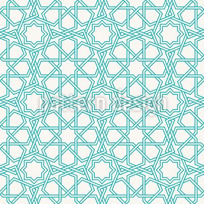 Islamische Stern Konturen Designmuster