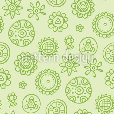 Mini Blumen Vektor Muster