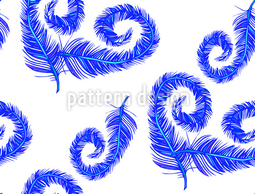 Fantasie Federn Vektor Ornament