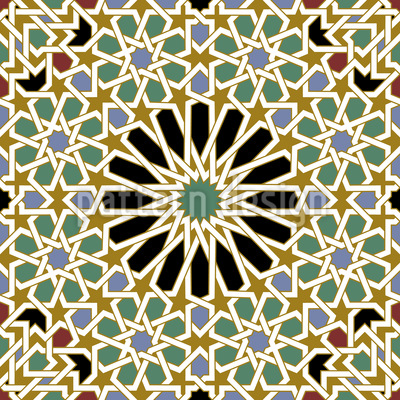 Riad Splendor Seamless Pattern