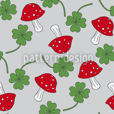 Lucky Charms In Blue Pattern Design