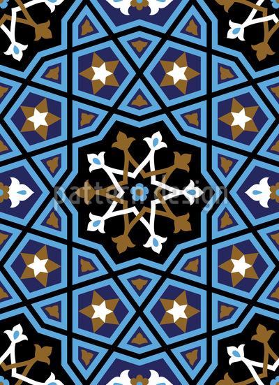 Arabisches Riad Rapportmuster
