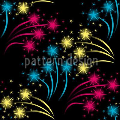 Feuerwerk Musterdesign