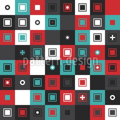 Patchwork Grid Pattern Design