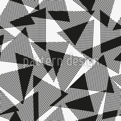 Overlapping Triangles Pattern Design