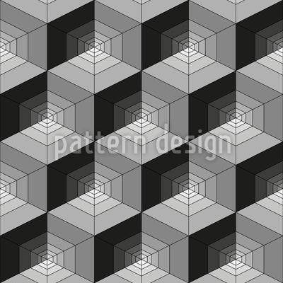 Geometrische Irreführung Vektor Ornament