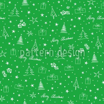 Kleine Weihnachtsillustrationen Musterdesign