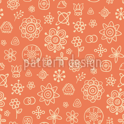 Flowers Or Stars Afterall Seamless Vector Pattern
