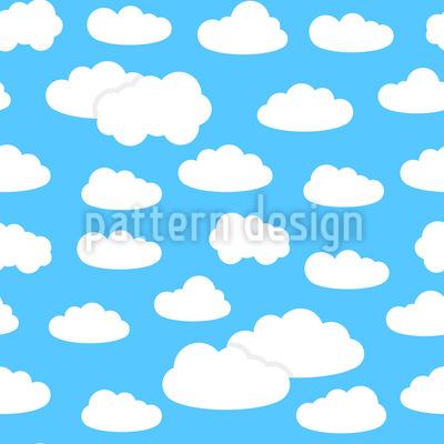 Sommerwolken Designmuster