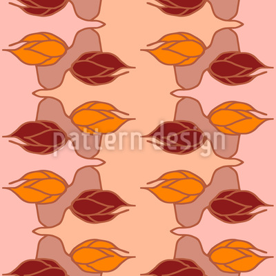 Buds Wants To Hug Seamless Pattern