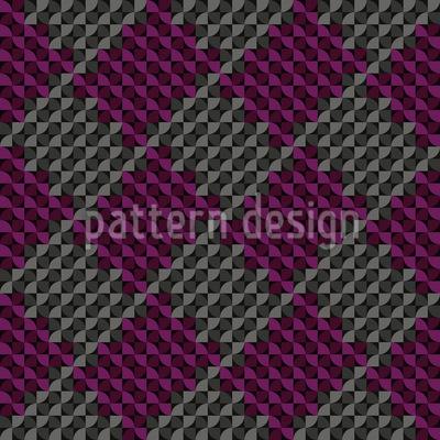 Square Knitting Seamless Pattern