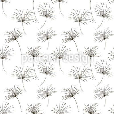 Flying Seeds Vector Pattern