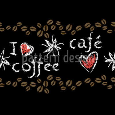 Coffee Love Vector Design