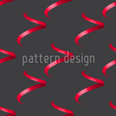Falling Curls Pattern Design