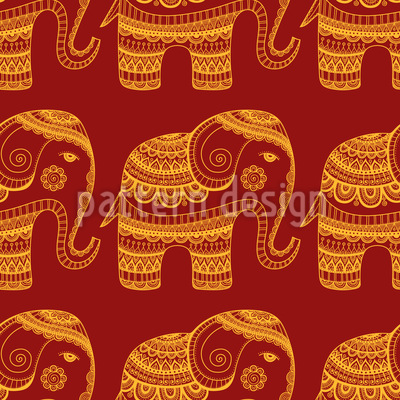 A Bless Of India Pattern Design