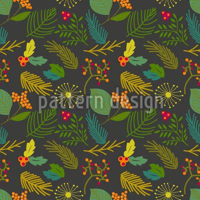 A Blossom Of Winter Design Pattern