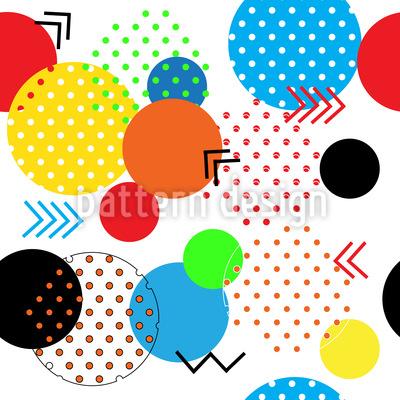 Abstrakte geometrische Formen Rapportiertes Design