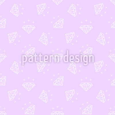 Light Diamonds Vector Pattern