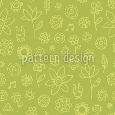 Citronelle Blumen Muster Design