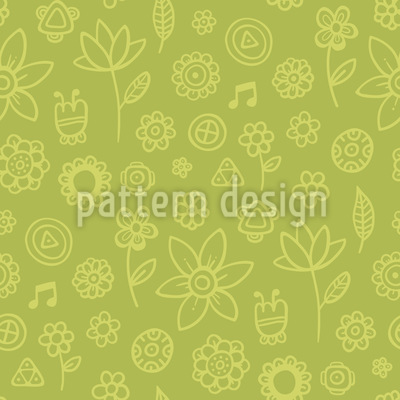 Citronelle Flowers Pattern Design