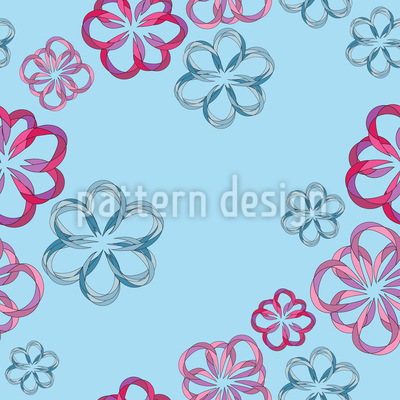 Folded Flowers Pattern Design