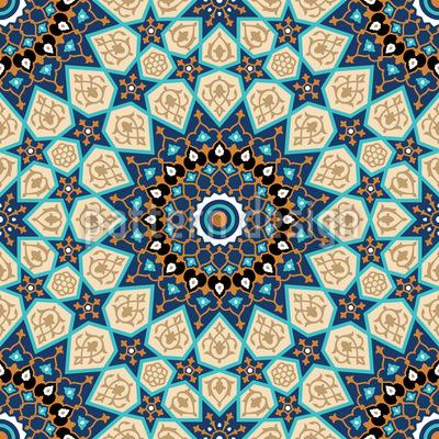 1000 Stars Vector Pattern