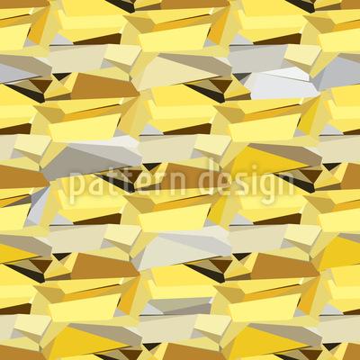 Glänzende Steine Rapportiertes Design