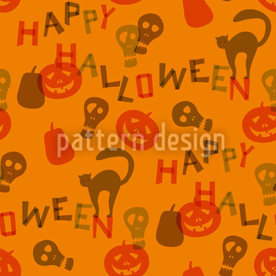 Halloween Snippets Pattern Design