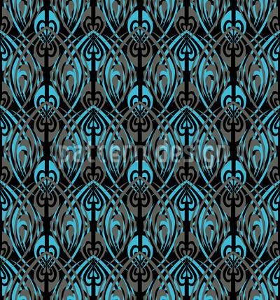 Schwarzes Maori Vektor Ornament