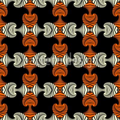 Modisches Maori Rapportiertes Design