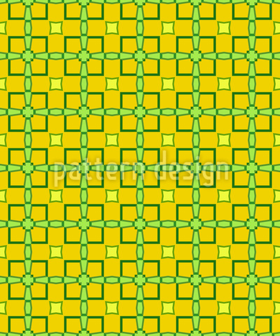 Limoncello quadratische Formen Rapportmuster