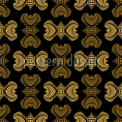 Maori Ornaments Pattern Design
