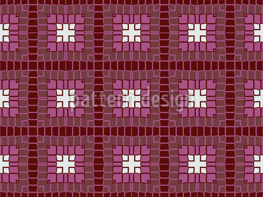 Mystische quadratische Formen Vektor Muster