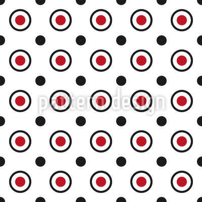 Modern Dots And Circles Vector Design