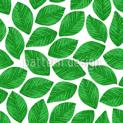 Stamped Leaves Repeating Pattern