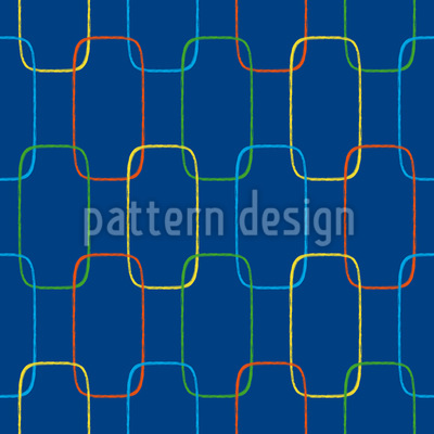 Geometric Chain Ornaments Vector Ornament