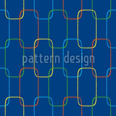 Geometrische Ketten Ornamente Vektor Ornament
