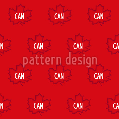 Canada Flag Vector Pattern