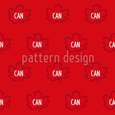 Kanada Flagge Vektor Muster