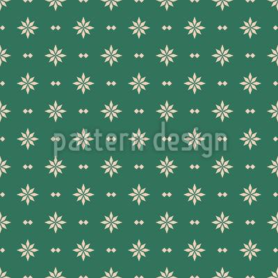 Retro Sternen Bordüre Vektor Design