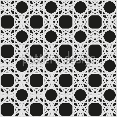 Dark Wickerwork Pattern Design