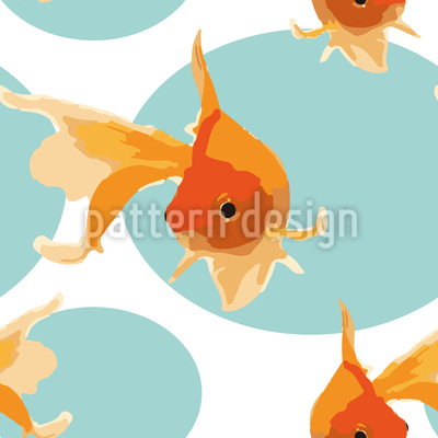 Friendly Goldfish Vector Design