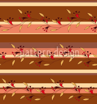 Autumn Sripes Repeating Pattern