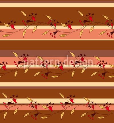 Herbststreif Rapportiertes Design